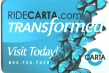 Metrocard Holder Carta   South Carolina