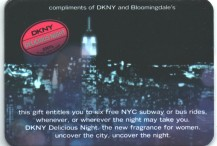 "Bloomingdale's Promotion with DKNY for ""Delicious Night"" Perfume"