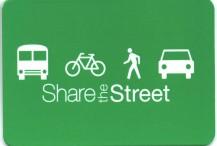Metrocard Holder Share the Street