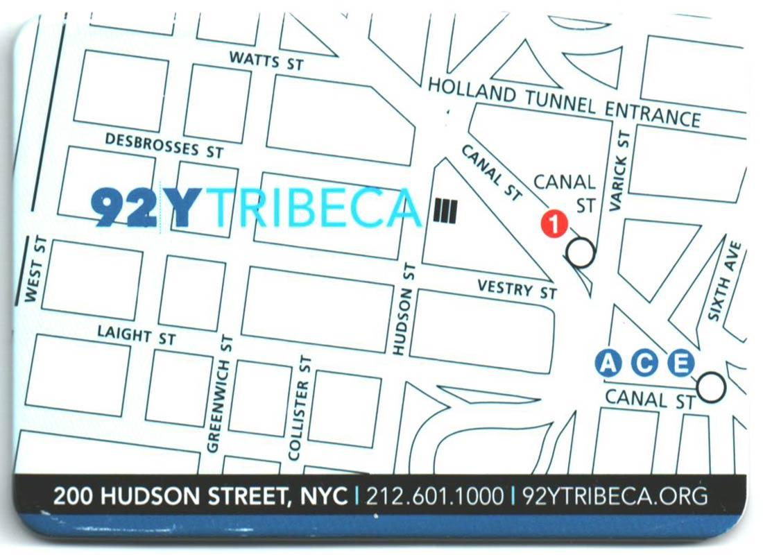 Metrocard Holder 92Y Tribeca