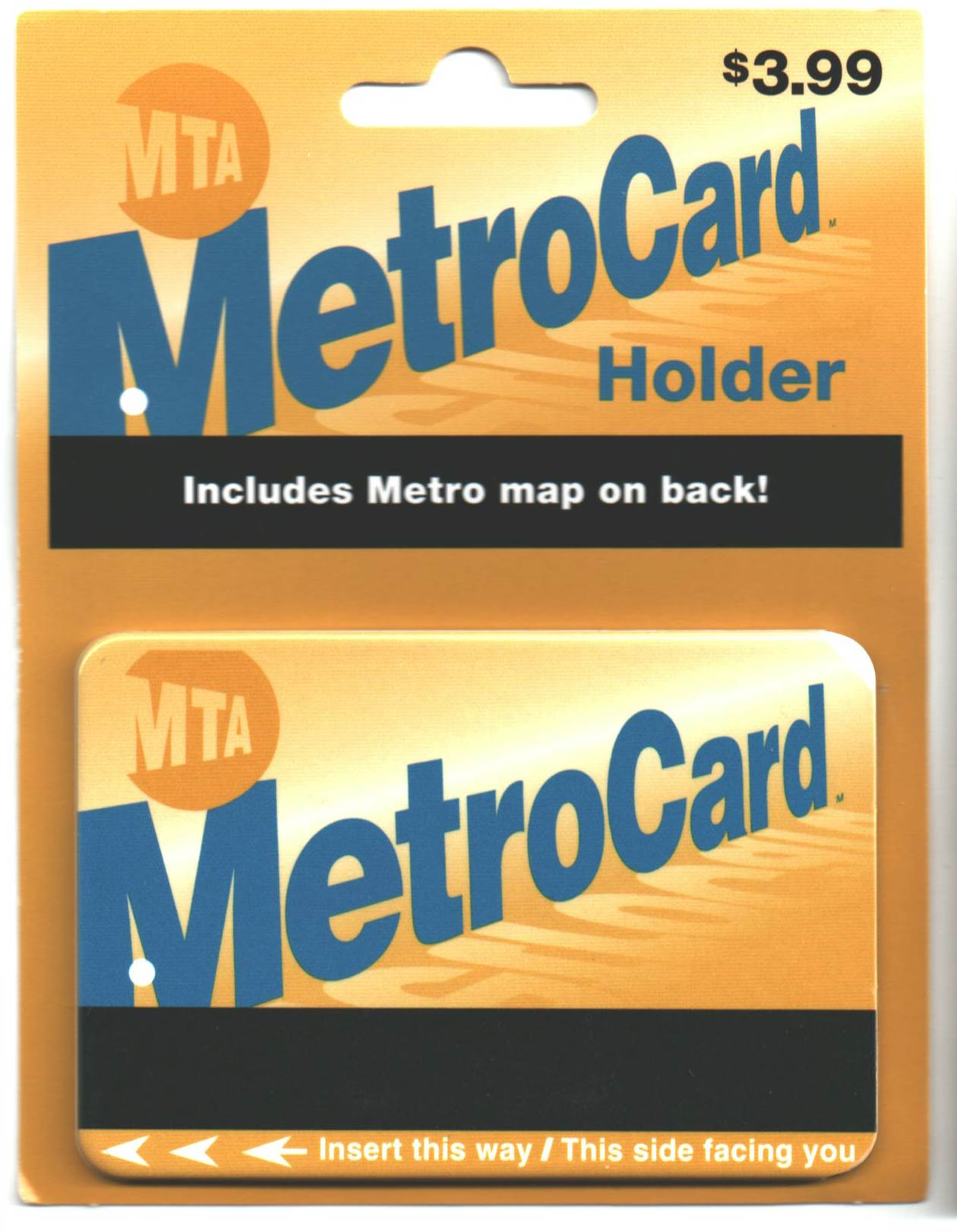 NY City Transit Metrocard Holder