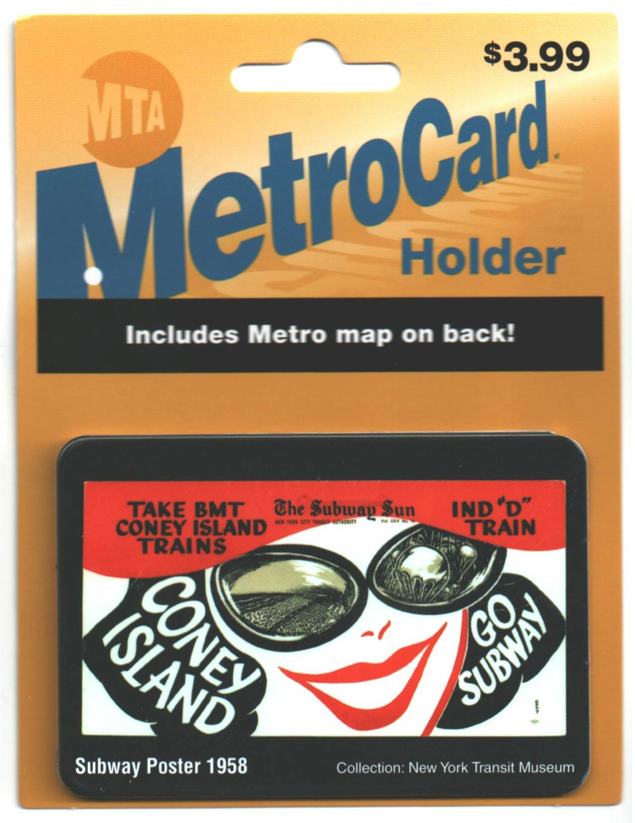 MetroCard Holder Coney Island