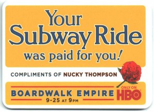 MetroCard Holder HBO