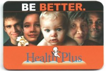 MetroCard Holder Health Plus