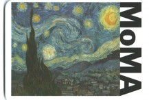 Metrocard Holder MoMA Starry Night