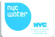 Metro Card Holder NYC Water