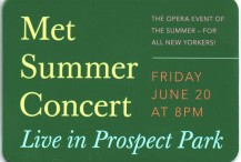 The Met Summer Concert
